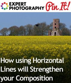 How using Horizontal Lines will Strengthen your Photography Composition