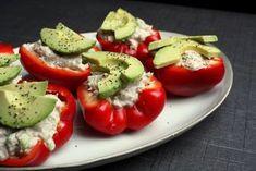 Madlaboratoriet: Fyldte peberfrugter med tun og avocado