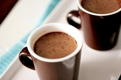 the perfect hot chocolate? yes, please!