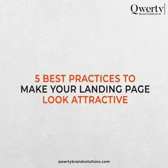 A landing page could make or break your conversions. So, it is widely advised to have a good landing page that conveys your message correctly. These 5 tips will help you to improve your landing page that results in more conversions. . #instagramtips #instagramforbusiness #socialmediaagency #socialmediainfluencer #growthhacking #marketingconsultant #digitalmarketingstrategy #instagramstrategy #instagramgrowth #smtips #socialmediamarketer #socialmediaexperts #qwertybrandsolutions Top Digital Marketing Companies, Digital Marketing Strategy, Online Marketing, Social Media Marketing, Best Landing Pages, Seo Agency, Professional Website, Marketing Consultant, Social Media Influencer
