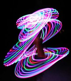 LED hoop, I sure wish I could spin like this! @Jordan Votipka-thought you would like this!!