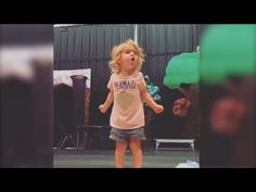 Watch this 2-year-old's dramatic rendition of the ABCs