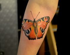 1337tattoos — #butterfly #butterflytattoo submitted by  Ruth...