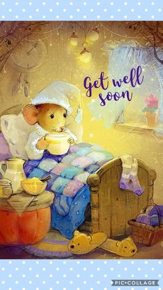 trendy ideas birthday banner sayings mice Get Well Soon Images, Get Well Soon Messages, Get Well Soon Quotes, Well Images, Get Well Wishes, Get Well Soon Gifts, Get Well Cards, Birthday Greetings For Daughter, Birthday Wishes
