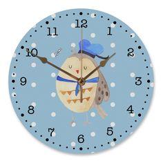 """30 cm Wanduhr Eule Matrosen aus MDF  Weiß - Das Original von Mr. & Mrs. Panda.  Diese wunderschöne Uhr von  Mr. & Mrs. Panda wird liebeveoll in unserem Hause bedruckt und an sie versendet. Sie ist das perfekte Geschenk für kleine und große Kinder, Weltenbummler und Naturliebhaber. Sie hat eine Grösse von 30 cm und ein absolut LAUTLOSES Uhrwerk.    Über unser Motiv Eule Matrosen  Ganz nach dem Motto """"Du bist mein Heimathafen."""". Die wunderbare Matrosen Eule von Mr. & Mrs. Panda.    Verwendete…"""