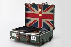 Globe-trotter Luggage Collection try the vintage ones from clubhouse interiors