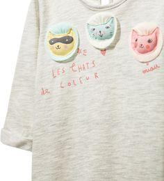 T - SHIRT MET APPLIQUÉS - Alles bekijken - Baby meisje - Nieuwe collectie | ZARA Nederland