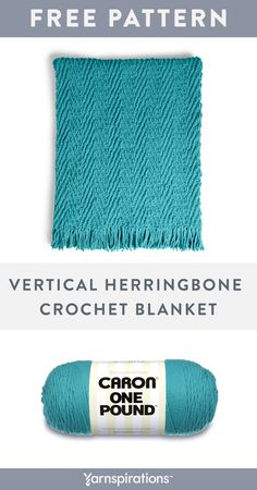 free crochet blanket pattern caron one pound vertical herringbone crochet blan - The world's most private search engine Crochet Throw Pattern, One Skein Crochet, Crochet Afgans, Afghan Crochet Patterns, Learn To Crochet, Crochet Stitches, Crochet Blankets, Easy Crochet Blanket, Crochet Gratis