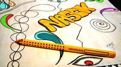 Divagando, Grafite e Design