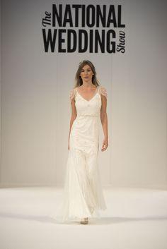 Goddess glamour trend. Jenny Packham at the Ellie Sanderson boutique #wedding #dress #goddess