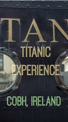 Cork Ireland, Dublin Ireland, Ireland Vacation, Ireland Travel, Dark Hedges, Real Titanic, Irish Eyes Are Smiling, England Ireland, County Cork