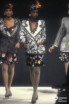 Katoucha Niane | Emanuel Ungaro, Spring-Summer 1992, Couture
