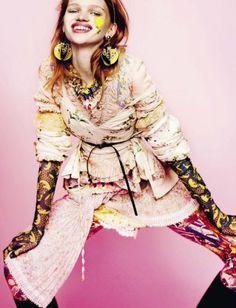 Stella Lucia for Vogue Italia