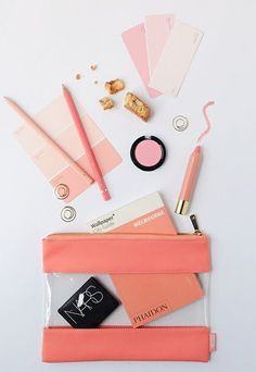 This Be Brave Multi-Purpose Case is just peach - & perfect for make up