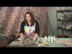 Learn new painting techniques on Make It Artsy with Mystele Kirkeeng (211-1) - YouTube