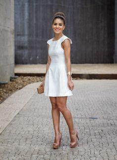 Look: Camila Coelho - All White Girlie