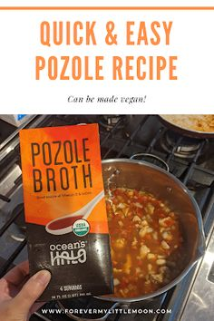 Quick and Easy Pozole Recipe - Forever My Little Moon Easy Pozole Recipe, Pork Stew Meat, Beef Recipes, Easy Recipes, Soup Recipes, Frozen Corn, Vegan Options, Family Meals, Meal Planning