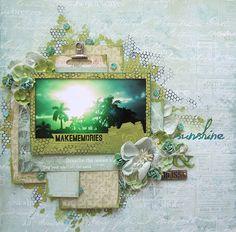 Sunshine and Bliss- Prima Marketing - Prima - Seashore Collection