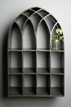 gothic arch shelving