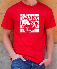 EXKLUSIVES BERLIN DELUXE, BABY! MÄNNER T-SHIRT FÜR INDIVIDUELLE BERLINROCKER!