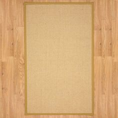 Found it at Wayfair - Natural Fusion Gold Area Rug