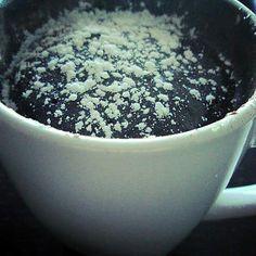 recette MUG CAKE AU NUTELLA