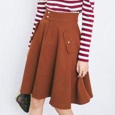 Korean fashion skirts AddOneClothing.com Size Chart