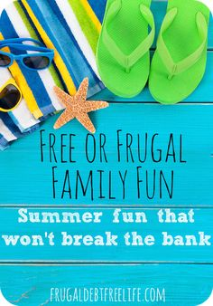 27 Frugal or free things to do with small children this summer. Summer fun doesn't have to break the bank or even cost a penny. These ideas are great!
