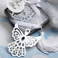 Silver Angel Bookmark Favor