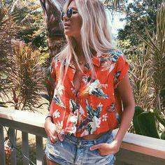 ♕pinterest/amymckeown5  #denim #jeans floral