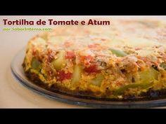 Receita de Tortilha de Tomate e Atum - YouTube