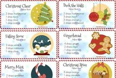 Fill your home with festive smells using these 10 christmas essential oil blends for the diffuser. Click to get the blend recipes for lots of holiday cheer.