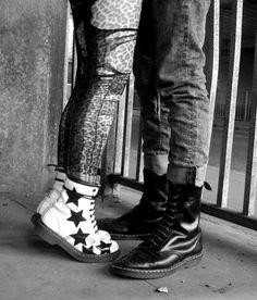 Solovair and Dr. Grunge, Dr. Martens, Mtv, Sick Boy, Chelsea Girls, Punk Princess, Punk Outfits, Skinhead, Punk Goth
