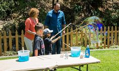 Home & Family - Tips & Products - DIY Big Bubble Maker with Matt Rogers | Hallmark Channel  7/2