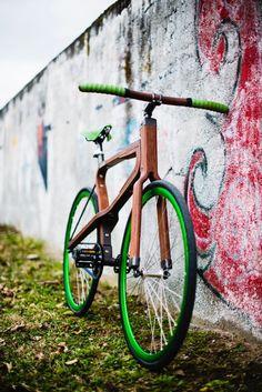 Frizzifrizzi » WooBi, una nuova bici ecologica e made in Italy col telaio interamente in legno