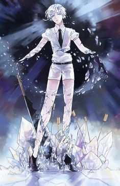 Antarcticite - Houseki no Kuni - Image - Zerochan Anime Image Board Pretty Drawings, Image Boards, Loving U, Anime Art, Kawaii, Fan Art, Manga, Gallery, Steven Universe