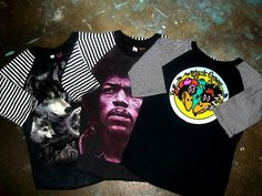 Image of Old Skool Raglan SIZE 6 look at hendrix