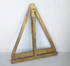 Vintage Wooden Tabletop Easel