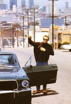 Steve McQueen in San Francisco
