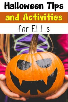 Get ideas for introducing Halloween to ELLs. Also learn about activities to integrate content with Halloween fun. #Halloween #esl