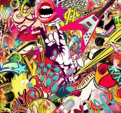 rock n roll invitation