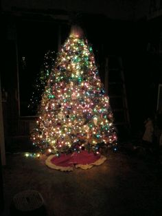 Christmas tree #2 at Auction.