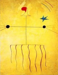 Cabeza de campesino catalán - (Joan Miro)