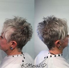 Hairstyles 2020 Trends Spiky Gray Pixie for Fine Hair.Hairstyles 2020 Trends Spiky Gray Pixie for Fine Hair Haircut For Older Women, Older Women Hairstyles, Short Hair Cuts For Women, Short Cuts, Short Spiky Hairstyles, Short Pixie Haircuts, Gorgeous Hairstyles, Gray Hairstyles, Simple Hairstyles
