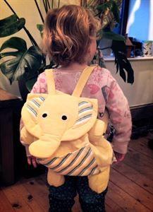 Elephant backpack, kids backpack, handmade. So cheap, great gift!