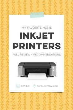 Favorite home inkjet printers | reviews   recommendations via @teelac