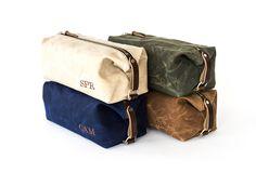 NO. 345 Men's Dopp Kit Gift for Him por SivaniDesignsShop en Etsy