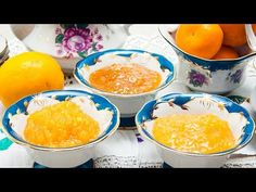 🍊АПЕЛЬСИНОВЫЙ ДЖЕМ – 3 вкусных рецепта! - YouTube Orange Jam, Yams, Cantaloupe, Carrots, Pudding, Canning, Breakfast, Kitchen, Desserts
