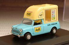 Vintage ice cream truck statue