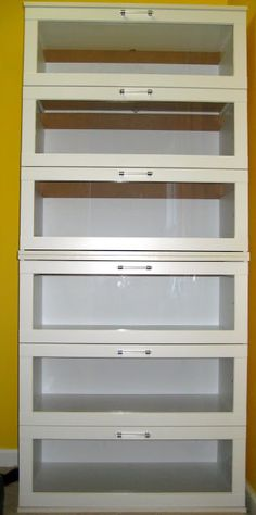 2 ikea aneboda chests, stacked, without legs.  The hacker removed the textured plexi panels that were in them and replaced with clear plexi. I could use as-is.